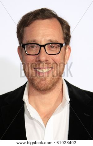 LOS ANGELES - MAR 5: Rob Minkoff at the premiere of 'Mr. Peabody & Sherman' at Regency Village Theater on March 5, 2014 in Los Angeles, California