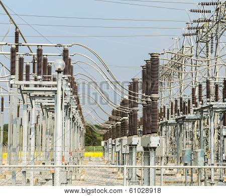 Electric Distribution Substation