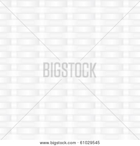White weave seamless vector texture. Seamless background texture - white weave.