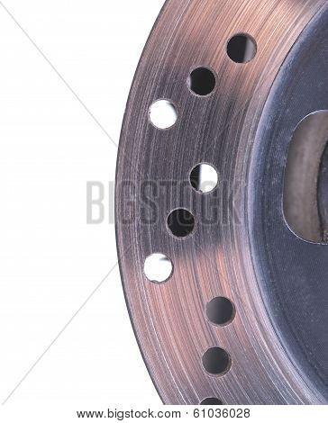 Single Disc Brake Rotor Of A Motorcycle