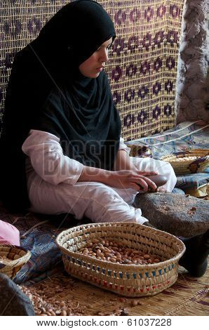 Traditional Argan Oil Production