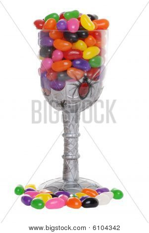 Jelly Beans In Goblet