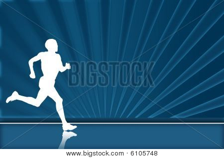 Runner background