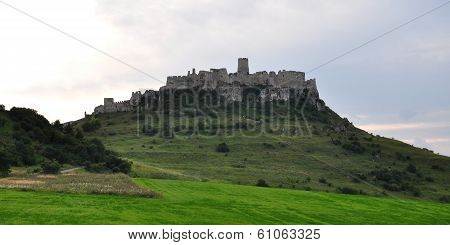 Spis Castle in Slovakia, Europe