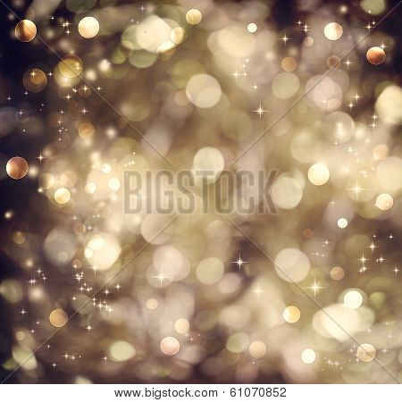 Golden Brown Abstract Light Background