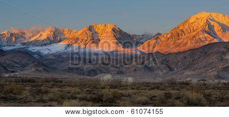 Morning in the Eastern Sierras