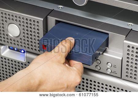 Insert Backup Tape