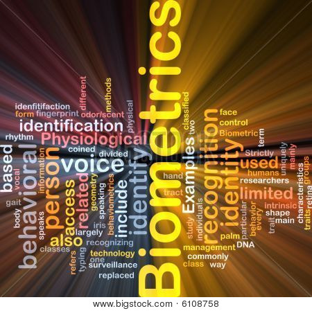 Biometrics Word Cloud Box Package