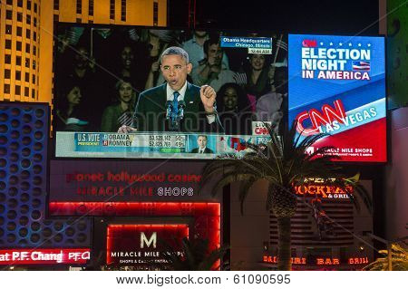 Election Night In Las Vegas