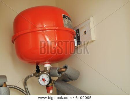 Tanque de expansión de calefacción central