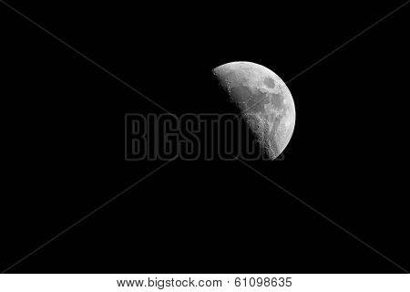 Half Moon Phase During Night