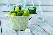 foto of easter basket eggs  - Easter - JPG