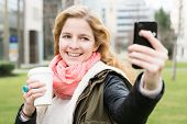 stock photo of selfie  - Selfie  - JPG
