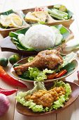picture of ayam  - Famous traditional Malay food - JPG