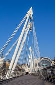 Hungerford Bridge In London