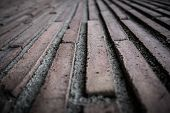 Brick surface background