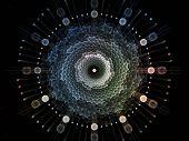 stock photo of symmetry  - Radial Symmetry series - JPG