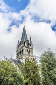 Saint-jacques Church In Tournai, Belgium.