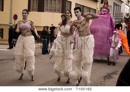 Carnival In Portugal,febrary 2010