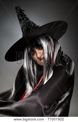 Witch Closeup Portrait