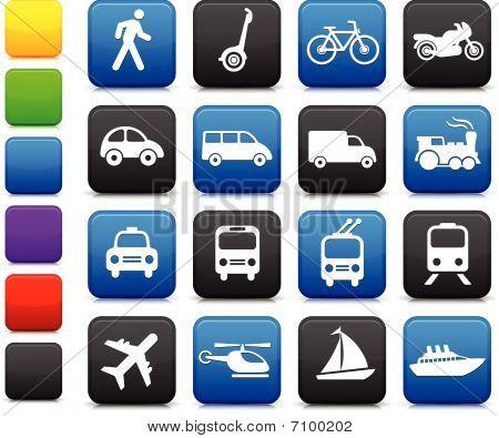 Transport Icons design-Elemente