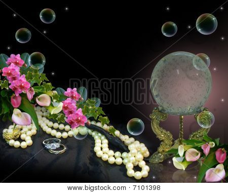 Crystal Ball romantic background