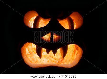 A Grinning Jack O Lantern