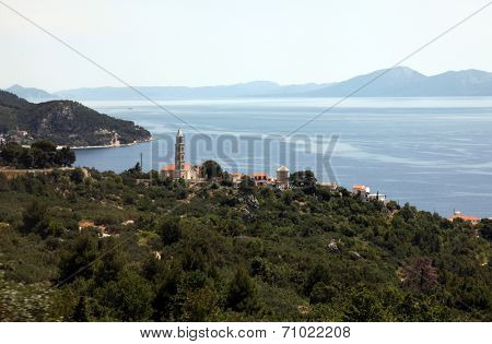 IGRANE, CROATIA - JUNE 07: The Village of Igrane, Makarska Riviera, Dalmatia, Croatia, on June 07, 2012.