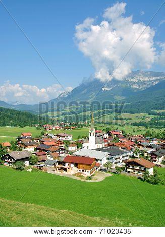 Ellmau am Wilden Kaiser,Tirol,Austria
