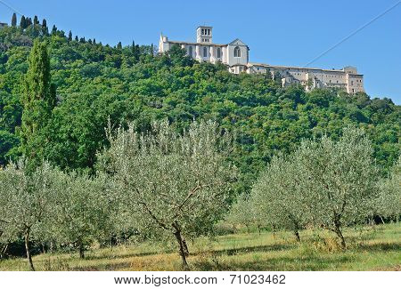 Saint Francis Basilica,Assisi,Umbria,Italy