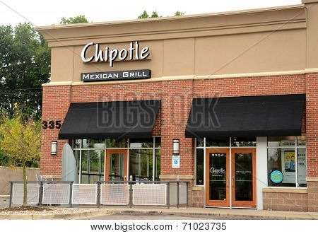 Chipotle Store In Ann Arbor