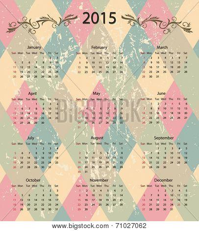 calendar 2015 design background