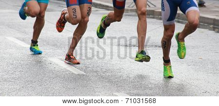 Triathlon Feets