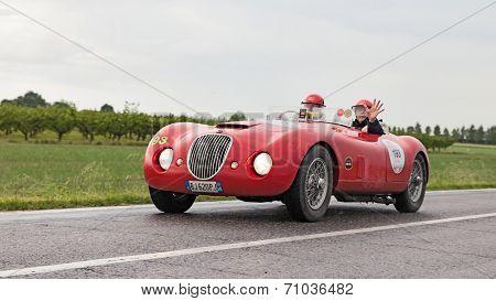 Jaguar Biondetti Sport In Mille Miglia 2013