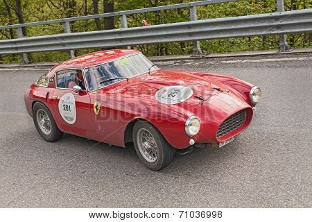 Ferrari 250 Mm (1953) In Rally Mille Miglia 2013