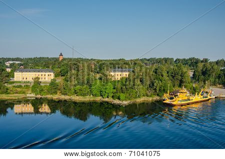 Ferry service in Sweden