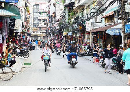 Hanoi, City Of Motorbikes