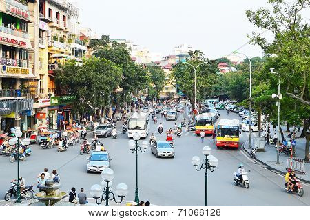 Hanoi, City Of Motorbikes