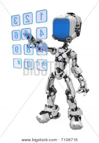 Blue Screen Robot, Dialing