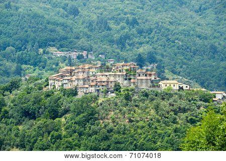 Regnano, Tuscany (italy)