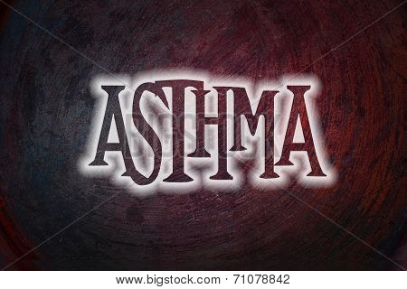 Asthma Concept