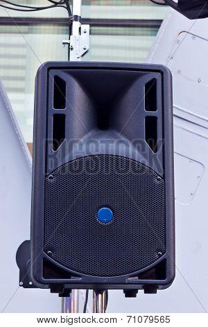 the big speaker