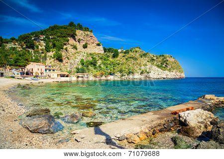 Famous Beach Isola Bella