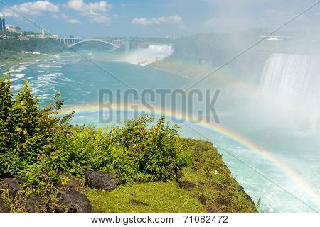 Rainbow in Niagara Falls