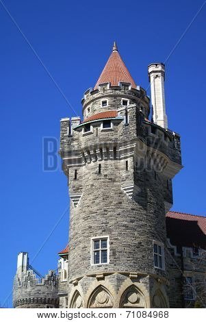 Casa Loma castle tower, Canada