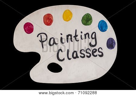 Painting Class Advertisement