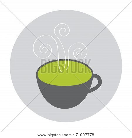 Hot Green Tea icon
