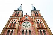 picture of notre dame  - The cathedral Notre Dame de Saigon - JPG