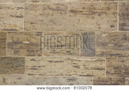 the Sandstone blocks