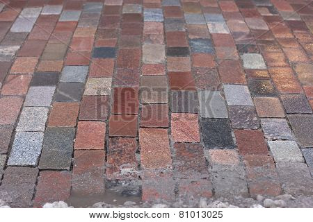 granite paves